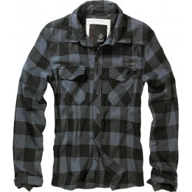 CAMASA CHECK SHIRT GREY-BLACK