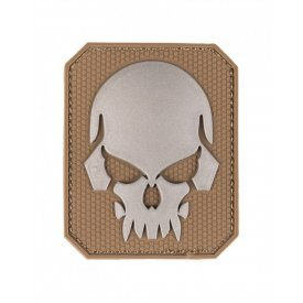 DARK COYOTE PVC SKULL 3D PATCH W.HOOK&LOOP CLOSURE