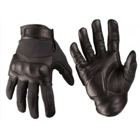 MANUSI TACTICE LEATHER-KEVLAR® BLACK