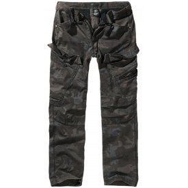PANTALONI ADVEN SLIM FIT BRANDIT DARK CAMO