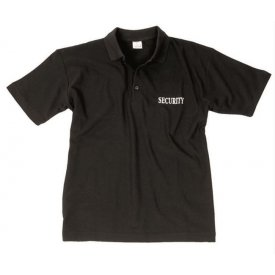 TRICOU POLO SECURITY NEGRU