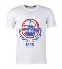 TRICOU TOP GUN WHITE