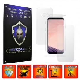 Samsung Galaxy S8 - Folie SKINZ Protectie  Full Body Ultra Clear AutoRegeneranta , husa invizibila tip skin ( Folie Protectie Ecran + Folie Carcasa )