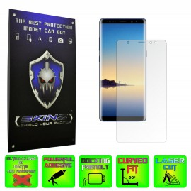 Samsung Galaxy Note 8 - Folie Protectie Ecran Transparenta Ultra-Clear sau Mata Antiamprenta Anti-glare (Set 2 Folii)