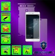 Huawei Ascend P9 - Folie SKINZ Protectie Full Body Ultra Clear HD sau Mata AntiAmprenta, husa invizibila tip skin ( Folie Protectie Ecran + Folie Carcasa )