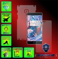 OnePlus 3 - Folie SKINZ Protectie  Full Body Ultra Clear AutoRegeneranta , husa invizibila tip skin ( Folie Protectie Ecran + Folie Carcasa )