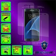 Samsung Galaxy S7 Edge - Folie SKINZ Protectie Full Body Ultra Clear HD sau Mata AntiAmprenta , husa invizibila tip skin ( Folie Protectie Ecran + Folie Carcasa )