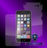 "Apple iPhone 6 / 6S 4.7"" - Folie SKINZ Protectie Full Body Ultra Clear HD , husa invizibila tip skin ( Folie Protectie Ecran + Folie Carcasa )"