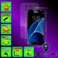 Samsung Galaxy S7 - Folie SKINZ Protectie Full Body Ultra Clear HD sau Mata AntiAmprenta , husa invizibila tip skin ( Folie Protectie Ecran + Folie Carcasa )