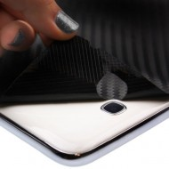 Samsung Galaxy A3 2016 - Folie Carbon Texturat - Carbon SKINZ , husa tip skin ( Folie Carcasa + Folie Rama Ecran )