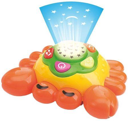 Jucarie muzicala pentru copii Crab Fun