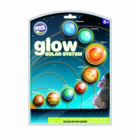 Sistem solar fosforescent The Original Glowstars Company B8500