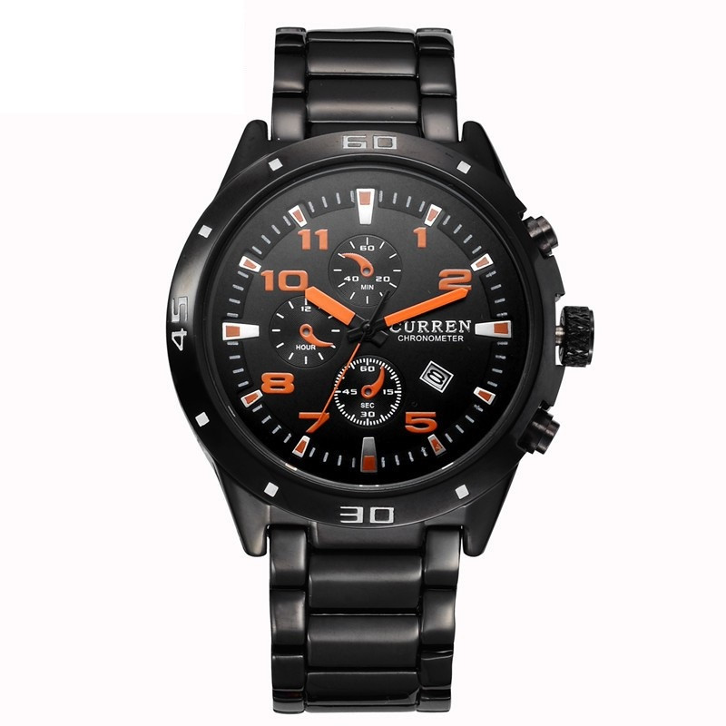 Ceasuri barbatesti Curren 8021 - JW394n orange
