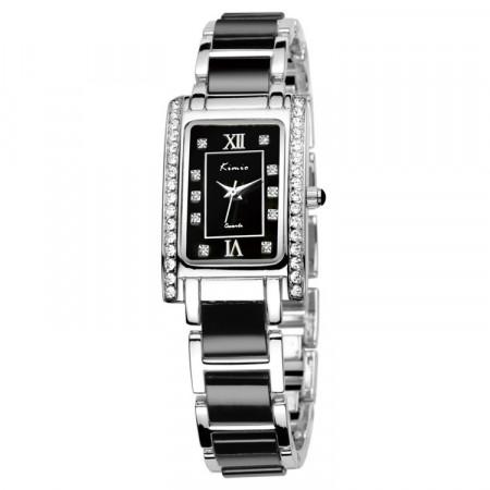 Ceas KIMIO TG021 argintiu negru