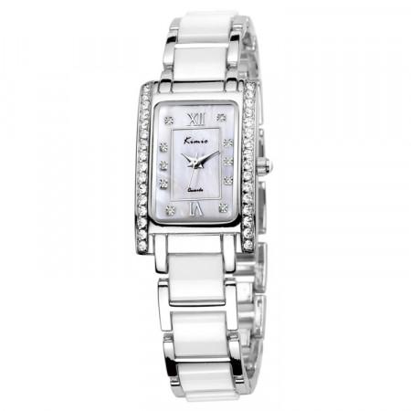 Ceas KIMIO TG021 argintiu alb