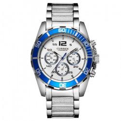 Ceasuri barbatesti Curren 8073 - JW401 albastru