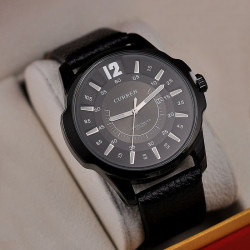 Ceasuri barbatesti Curren 8123 - JW483 negru
