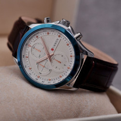 Ceasuri barbatesti Curren 8138 - JW466 albastru