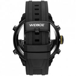 Ceas WEIDE, Quartz, Casual Sport, Galben, Curea Silicon, WH6303B-7C