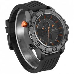 Ceas WEIDE, Quartz, Casual Sport, Orange, Curea Silicon, WH6108B-10C