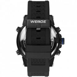 Ceas WEIDE, Quartz, Casual Sport, Albastru, Curea Silicon, WH6403B-4C