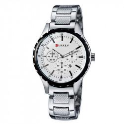 Ceasuri barbatesti Curren 8048 - JW852 - argintiu