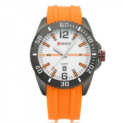 Ceasuri barbatesti Curren 8178 - JW857 - orange