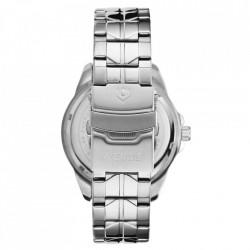 Ceas WEIDE, Quartz, Clasic, Argintiu, Curea Metalica, SE0706-1C