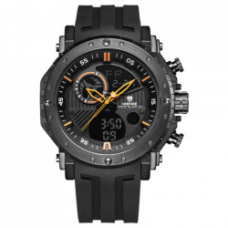 Ceas WEIDE, Quartz, Casual Sport, Orange, Curea Silicon, WH6903-5C