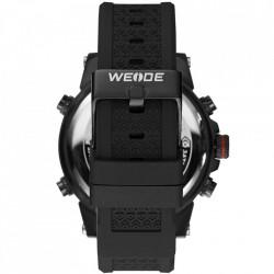 Ceas WEIDE, Quartz, Casual Sport, Rosu, Curea Silicon, WH6403B-2C