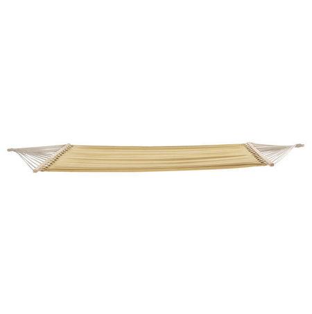 [casa.pro]® Hamac tesatura bej - 210 x 150 cm