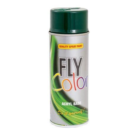 Fly Color spray vopsea verde RAL6005 c.400789 400ml