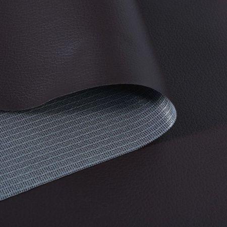 Material piele artificială, 1,4 x 9 m, maro