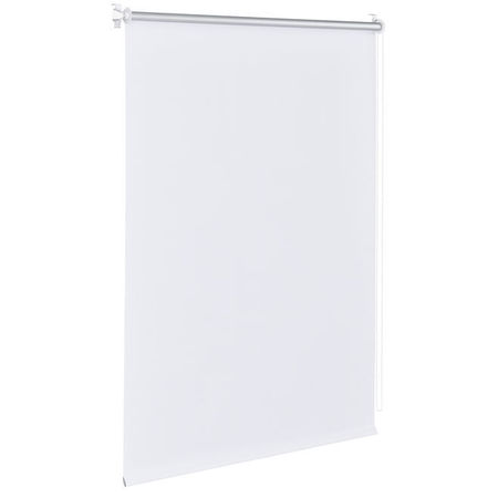 Roleta cu consola / - 100 x 230 cm - alb- jaluzea - fara gaurire
