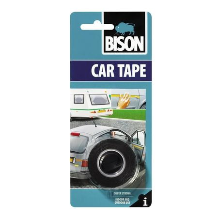 BISON Car Tape banda ad. auto 1,5mx19mm bl