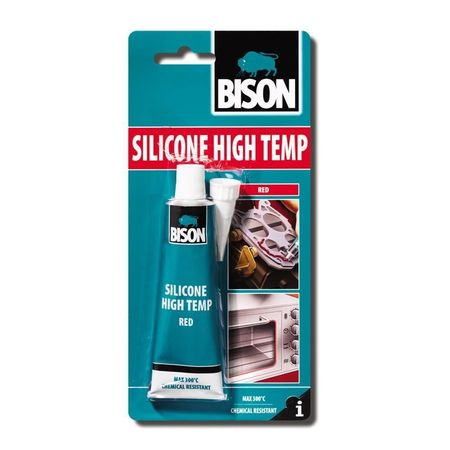 BISON Silicon rosu pt. temperatura 60ml