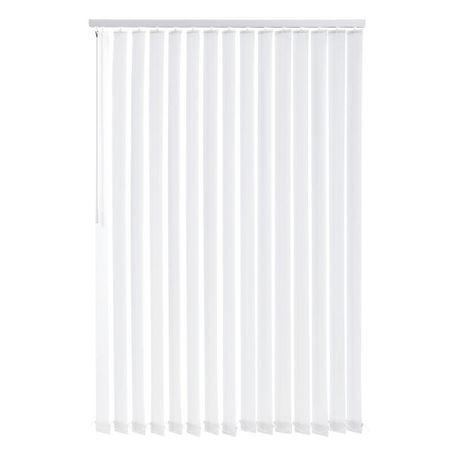 Jaluzele verticale cu lamele 120x250 cm - alb
