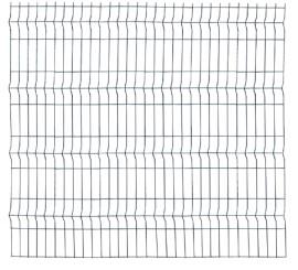 Panou Bordurat Zincat pt Gard - 2.5x1.2 - 653150