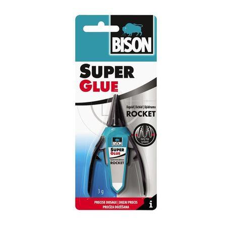BISON SUPER GLUE ROCKET LIQUID 3g, cod 6303421