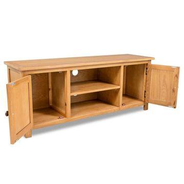Comodă TV lemn de stejar 120 x 35 x 48 cm