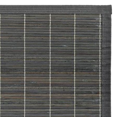 Covor din bambus 120 x 180 cm Gri