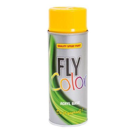 Fly Color spray vopsea galben RAL1023 c.400642 400ml