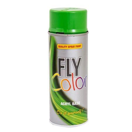Fly Color spray vopsea verde RAL6018 c.400758 400ml