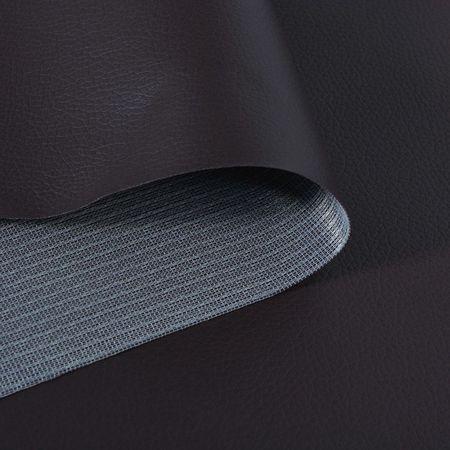 Material piele artificială, 1,4 x 36 m, maro