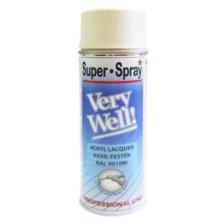 V. WELL RAL9010 alb mat c.VW90100M, 400ml