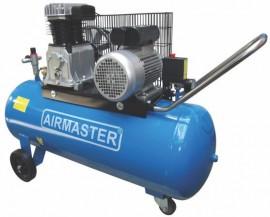 Compresor cu piston Airmaster AIR3SHU10100, 100 l, 2200 W, 10 Bar