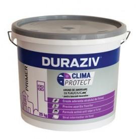 Grund de amorsare pentru tencuieli decorative DURAZIV Clima Protect® cu Kauciuc®