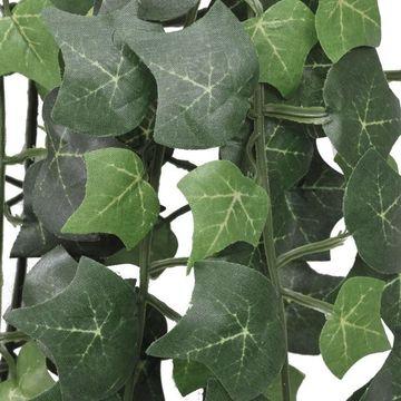 Iederă verde artificială, 2 tufe, 90 cm