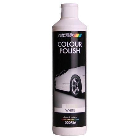 MOTIP COLOUR POLISH 746C polish color alb 500ml