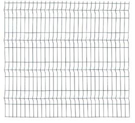 Panou Bordurat Zincat pt Gard - 2.5x1.7 - 653090
